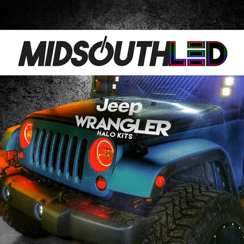 Jeep Wrangler COLORWERKZ Halo Kit