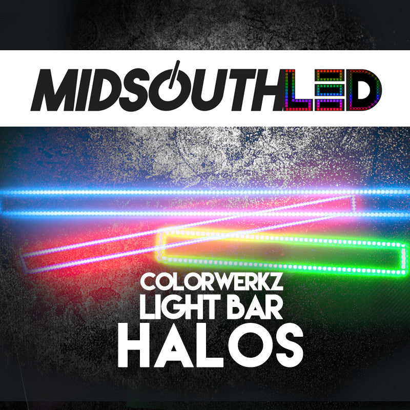 Light Bar Halos