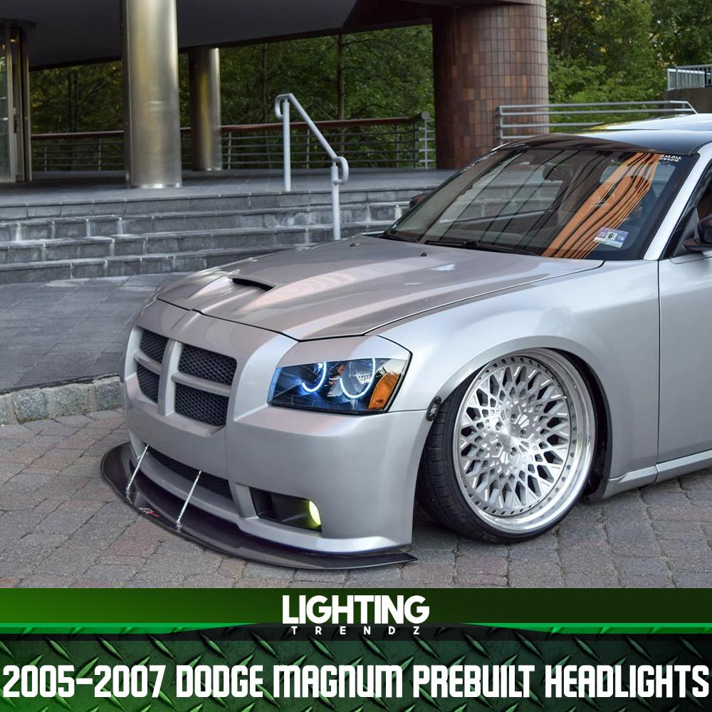 2005-2007 Dodge Magnum Pre-Built Headlights