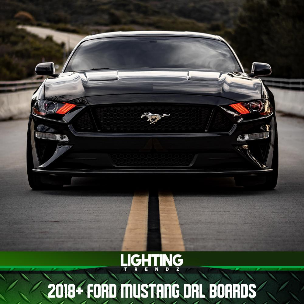 2018+ Ford Mustang DRL Boards
