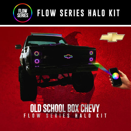 Old School Box Chevy Flow Series Halo Kit