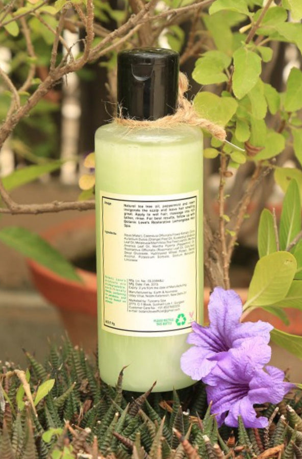 Botanic Love Sensitive Scalp Tea Tree Hair Wash, Hair Wash, Botanic Love, ihaat, [made_in_india], [handmade] - ihaat