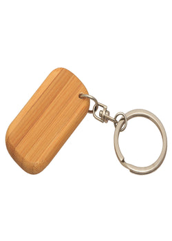 Bamboo India Bamboo Keychain, Keychain, Bamboo India, ihaat, [made_in_india], [handmade] - ihaat