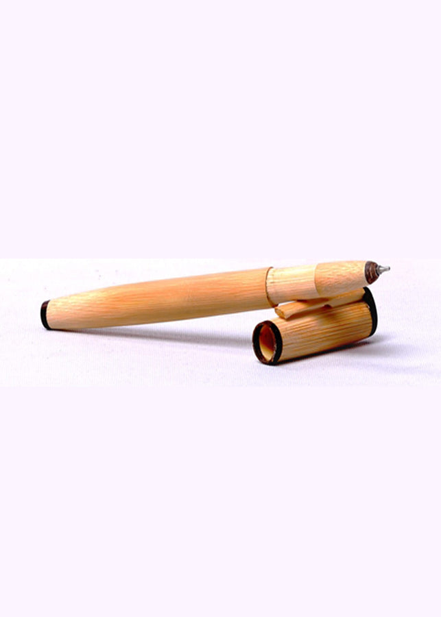 Bamboo India Bamboo Pen, Stationery, Bamboo India, ihaat, [made_in_india], [handmade] - ihaat
