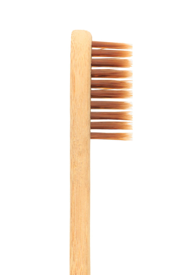 Bamboo India Bamboo Toothbrush - Natural, Oral Care, Bamboo India, ihaat, [made_in_india], [handmade] - ihaat