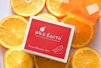 Wild Earth Orange Mandarin Soap 100GMS each (Set of 3), Body Care, Soap, Wild Earth, ihaat, [made_in_india], [handmade] - ihaat