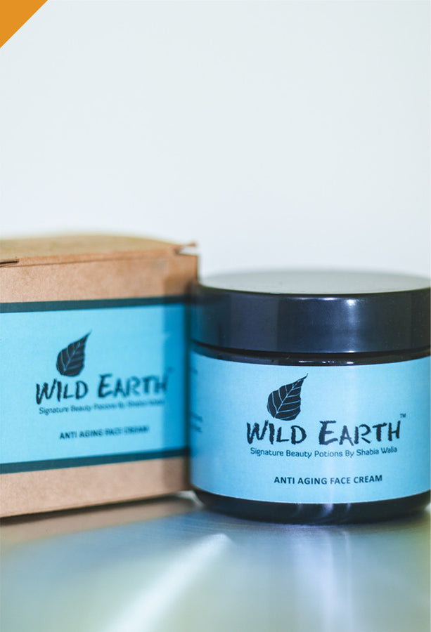 Wild Earth Anti Aging Face Cream, Facial Care, Wild Earth, ihaat, [made_in_india], [handmade] - ihaat