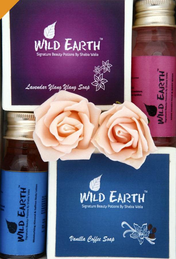 Wild Earth Indulgence Gift Set, gift set, Wild Earth, ihaat, [made_in_india], [handmade] - ihaat