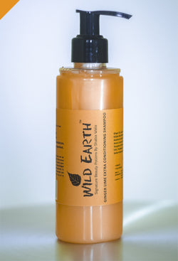 Wild Earth Ginger Lime Conditioning Shampoo, shampoo, Wild Earth, ihaat, [made_in_india], [handmade] - ihaat