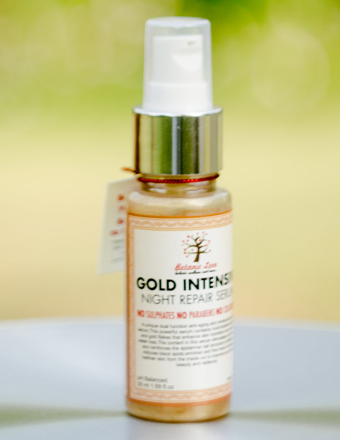 ihaat.in Botanic LoveGold Intensive Night Repair Serum