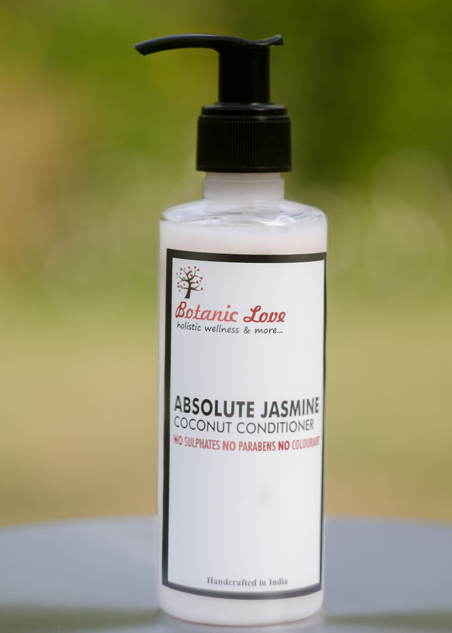Botanic Love Absolute Jasmine Coconut Conditioner, Shampoo, Botanic Love, ihaat, [made_in_india], [handmade] - ihaat