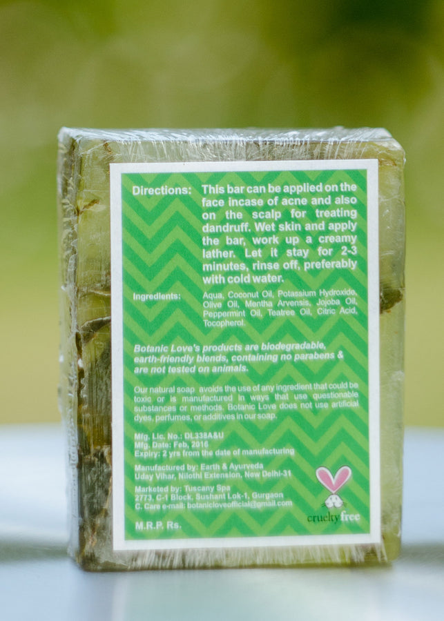 Botanic Love Anti Acne Bar, Soap, Botanic Love, ihaat, [made_in_india], [handmade] - ihaat