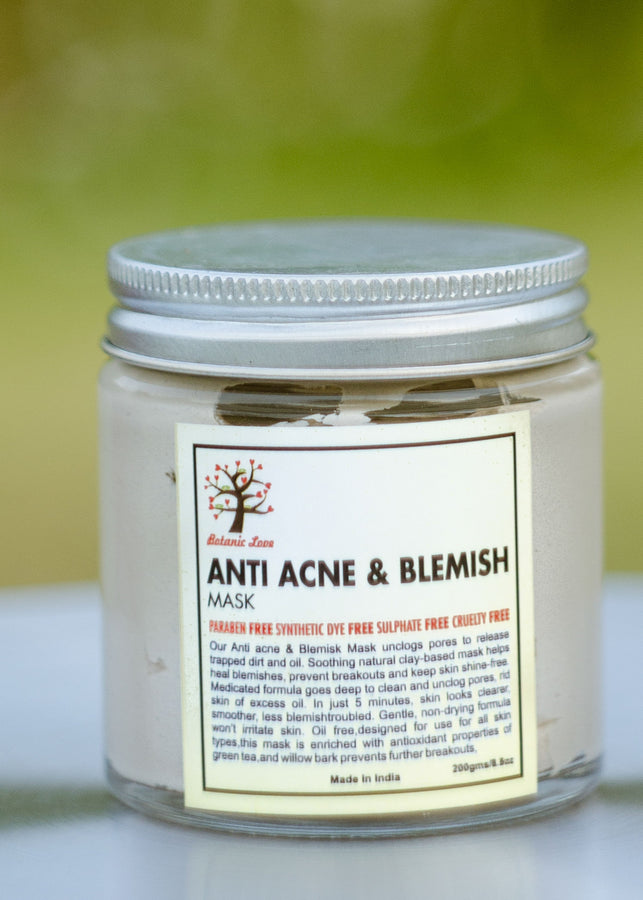ihaat.in Botanic Love Anti Acne & Blemish Mask