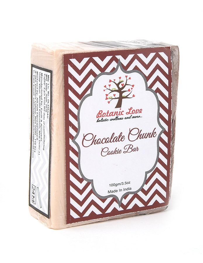 Botanic Love Chocolate Chunk Cookie Bar, Body Care, Soap, Botanic Love, ihaat, [made_in_india], [handmade] - ihaat