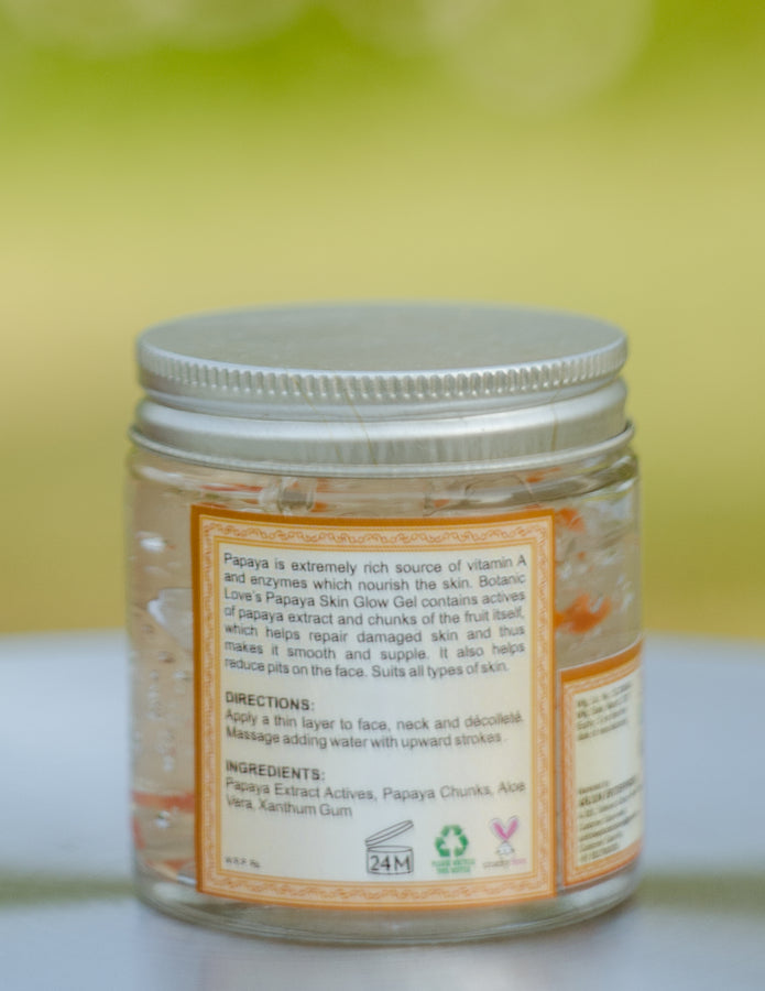 Botanic Love Papaya Skin Glow Gel, Beauty & Skincare, Botanic Love, ihaat, [made_in_india], [handmade] - ihaat