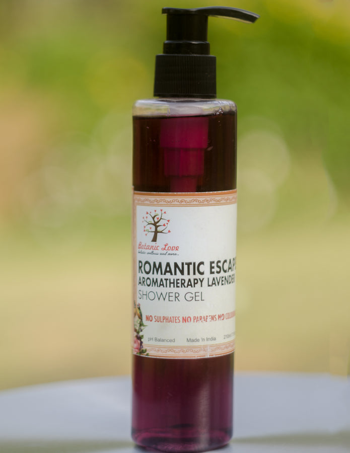 Botanic Love Romantic Escape Shower Gel, Shower Gel, Botanic Love, ihaat, [made_in_india], [handmade] - ihaat