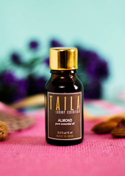 Chirpy India Taila Almond Essential Oil 15ml, Beauty & Skin Care, Chirpy India, ihaat, [made_in_india], [handmade] - ihaat