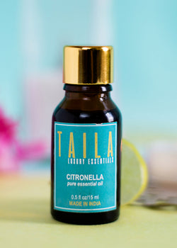 Chirpy India Taila Citronella Essential Oil 15ml, Health Care, Chirpy India, ihaat, [made_in_india], [handmade] - ihaat