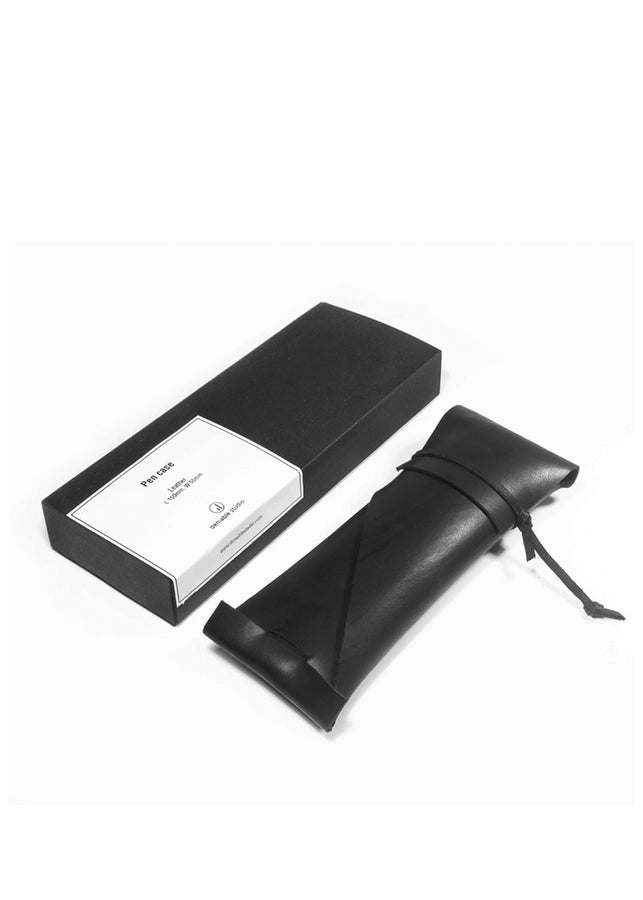Deniable Studio Pen Case Black, Pencase, Deniable Studio, ihaat, [made_in_india], [handmade] - ihaat