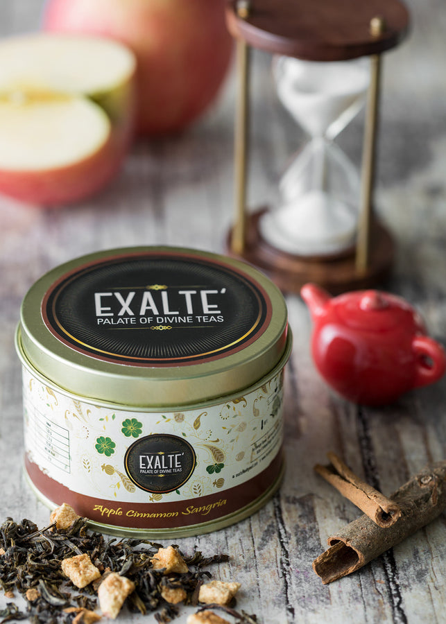 Exalté Apple Cinnamon Green Tea, Tea, Exalté, ihaat, [made_in_india], [handmade] - ihaat
