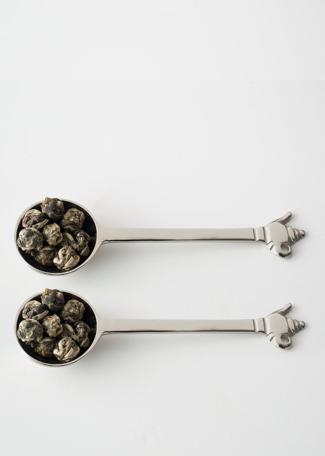 Exalté Teaspoons (Set of 2), Tea, Exalté, ihaat, [made_in_india], [handmade] - ihaat