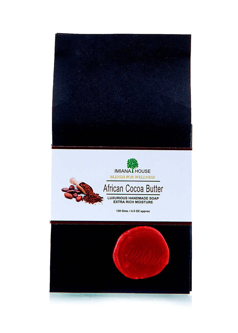 IMIANA HOUSE African Cocoa Butter Soap, Body Care, Soap, IMIANA HOUSE, ihaat, [made_in_india], [handmade] - ihaat