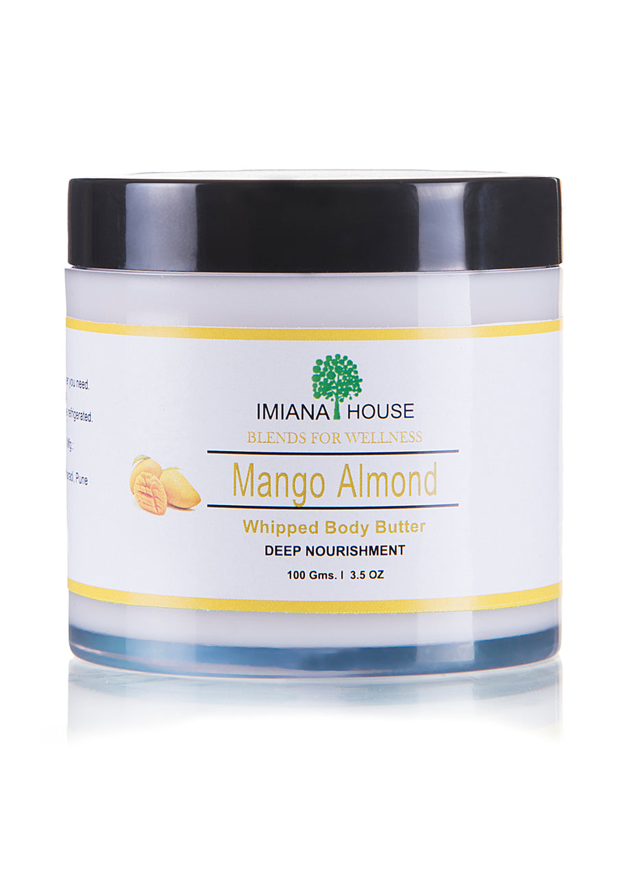 IMIANA HOUSE Mango Almond Body Butter, Body Care, IMIANA HOUSE, ihaat, [made_in_india], [handmade] - ihaat
