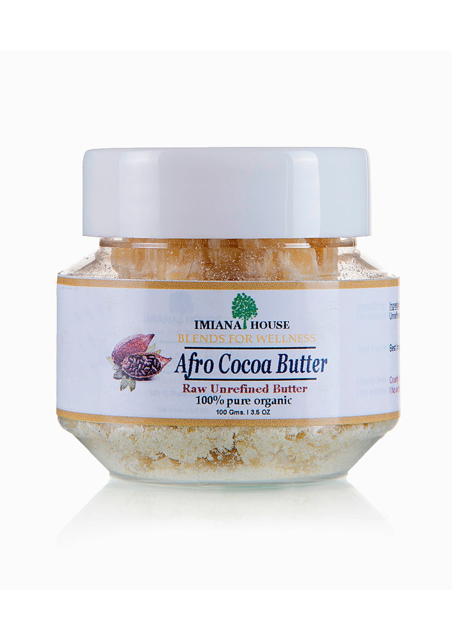 IMIANA HOUSE Organic Raw Unrefined African Cocoa Butter, Body Care, IMIANA HOUSE, ihaat, [made_in_india], [handmade] - ihaat