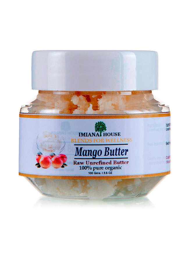 IMIANA HOUSE Organic Raw Unrefined Mango Butter, Body Care, IMIANA HOUSE, ihaat, [made_in_india], [handmade] - ihaat
