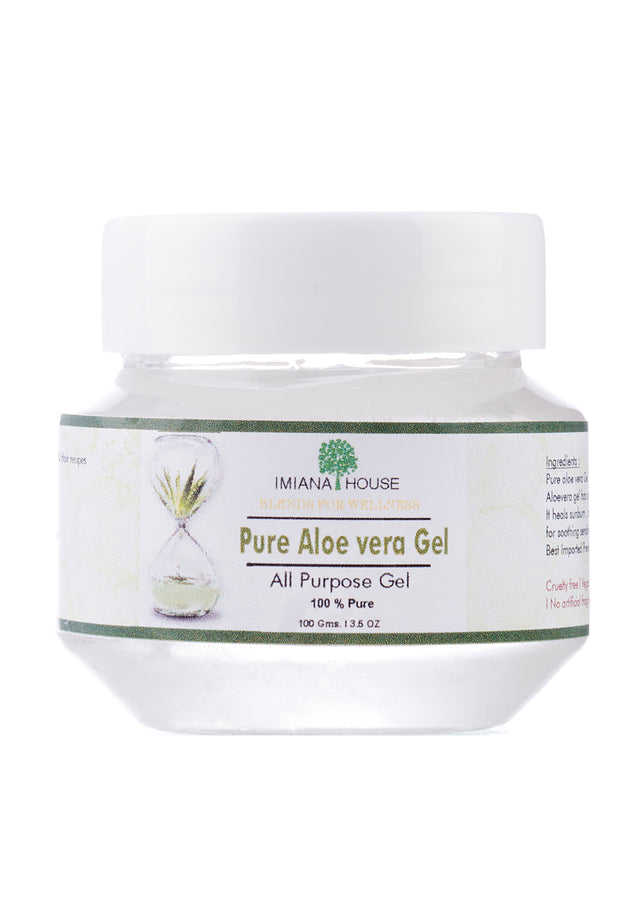 IMIANA HOUSE Pure Aloe Vera Gel, Face Care, IMIANA HOUSE, ihaat, [made_in_india], [handmade] - ihaat