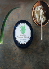 Mitti Se Aloe Clay Cleanser & Mask, Face Care, Mitti Se, ihaat, [made_in_india], [handmade] - ihaat