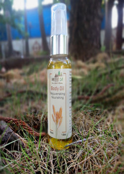 Mitti Se Body Oil- Rejuvenating Nourishing, Body Care, Mitti Se, ihaat, [made_in_india], [handmade] - ihaat