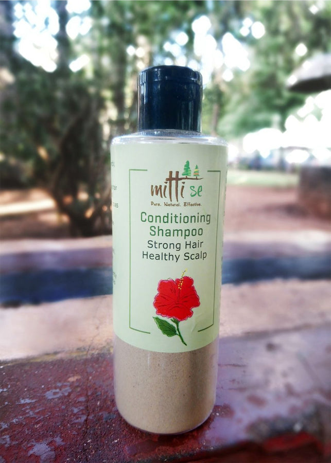 Mitti Se Conditioning Shampoo, Hair Cleanser, Mitti Se, ihaat, [made_in_india], [handmade] - ihaat