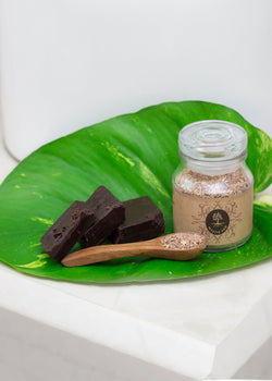 Mystic Ved Chocolate & Kaolin Clay Face Scrub, Face Scrub, Mystic Ved, ihaat, [made_in_india], [handmade] - ihaat