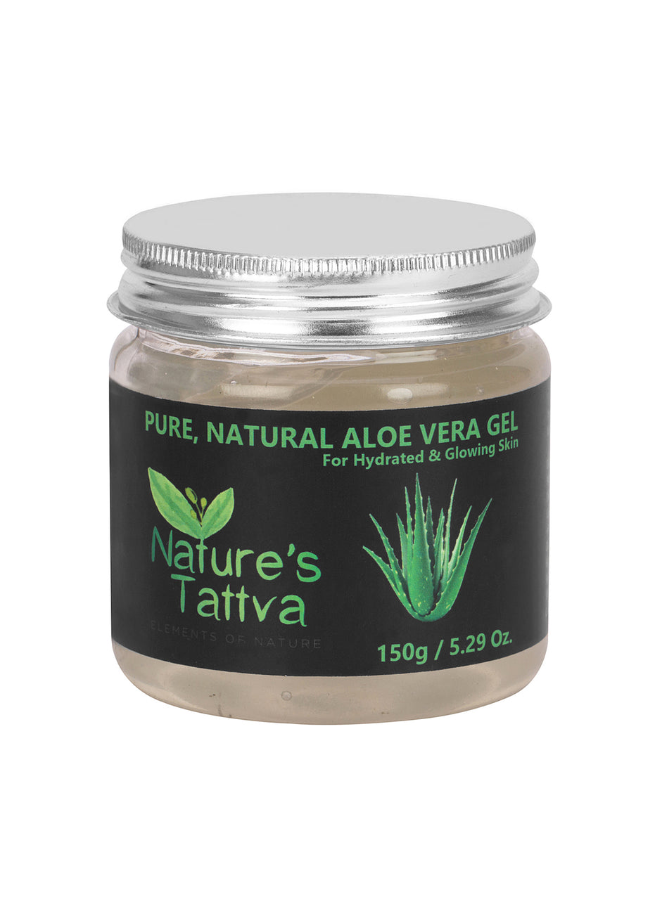 Nature's Tattva Aloe Vera Gel, Pure & Natural- 150gm, Beauty & Skin Care, Nature's Tattva, ihaat, [made_in_india], [handmade] - ihaat