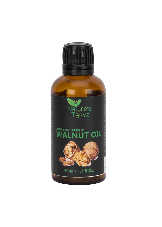 Nature's Tattva Cold Pressed Walnut Oil, 50ml, Hair Oil, Nature's Tattva, ihaat, [made_in_india], [handmade] - ihaat
