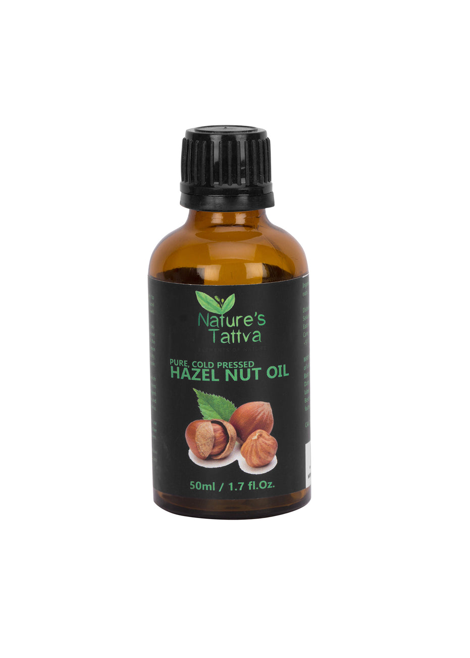 Nature's Tattva Pure Hazelnut Carrier Oil, 50 ml, Hair Oil, Nature's Tattva, ihaat, [made_in_india], [handmade] - ihaat
