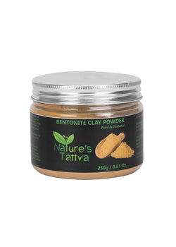Nature's Tattva Pure & Natural Bentonite Clay-250gm, Beauty & Skin Care, Nature's Tattva, ihaat, [made_in_india], [handmade] - ihaat