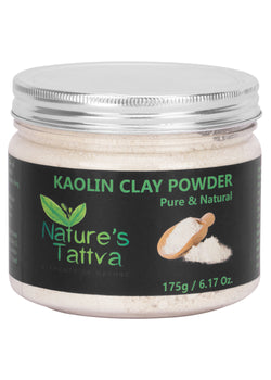 Nature's Tattva Pure & Natural Kaolin Clay-175gm, Beauty & Skin Care, Nature's Tattva, ihaat, [made_in_india], [handmade] - ihaat