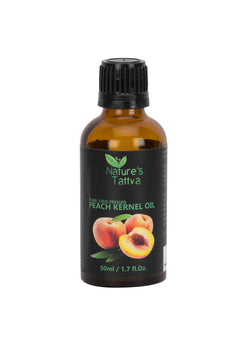 Nature's Tattva Pure Peach Kernel Carrier Oil, 50ml, Hair Oil, Nature's Tattva, ihaat, [made_in_india], [handmade] - ihaat