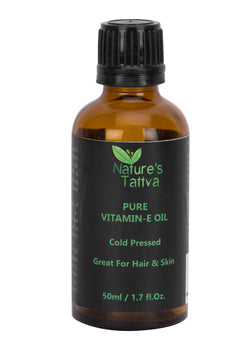 Nature's Tattva Pure Vitamin-E Oil, 50ml, Hair Oil, Nature's Tattva, ihaat, [made_in_india], [handmade] - ihaat