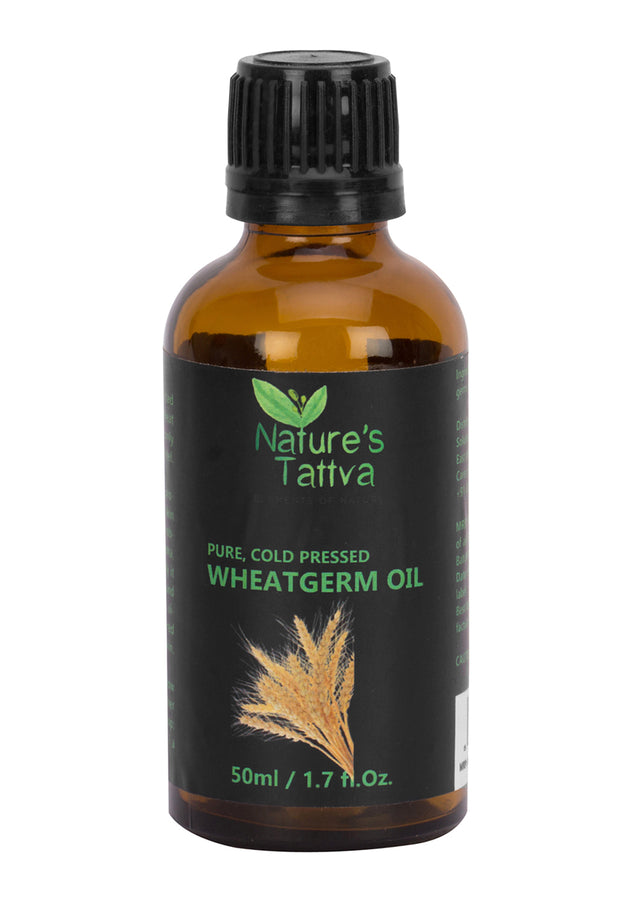 Nature's Tattva Pure Wheatgerm Carrier Oil, 50ml, Beauty & Skin Care, Nature's Tattva, ihaat, [made_in_india], [handmade] - ihaat