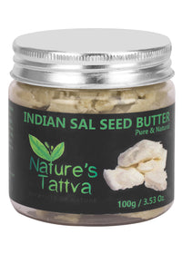Nature's Tattva Unrefined Sal Butter, 100gm, Beauty & Skin Care, Nature's Tattva, ihaat, [made_in_india], [handmade] - ihaat