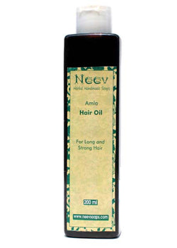 Neev Amla Hair Oil For Long And Strong Hair, Hair Oil, Neev Herbal Handmade Soaps, ihaat, [made_in_india], [handmade] - ihaat