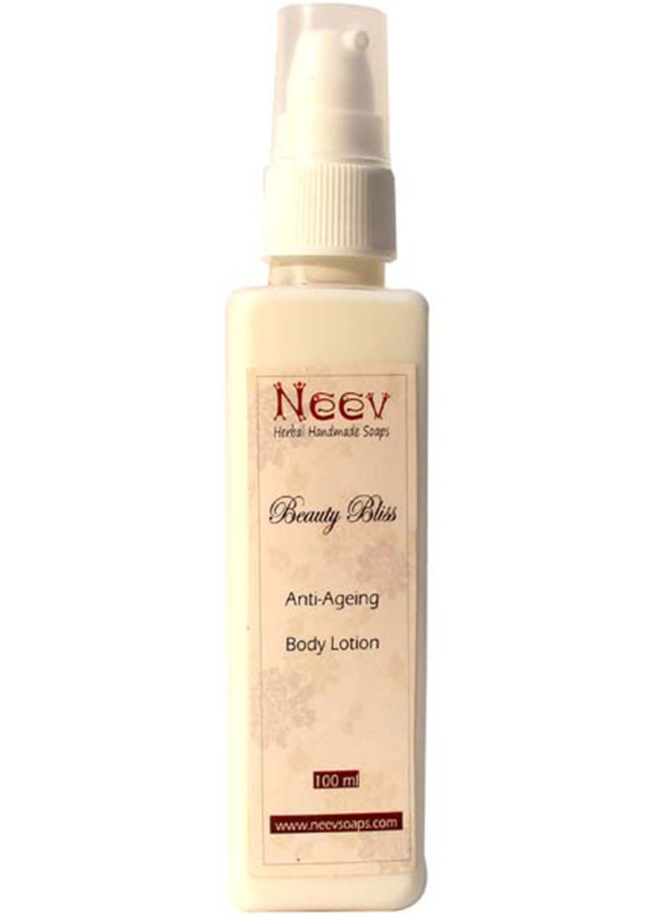 Neev Anti Ageing Beauty Bliss Lotion, Body lotion, Neev Herbal Handmade Soaps, ihaat, [made_in_india], [handmade] - ihaat