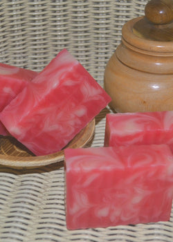 Pratha Naturals Anti Aging Raspberry Handmade Soap, handmade soap, Pratha Naturals, ihaat, [made_in_india], [handmade] - ihaat