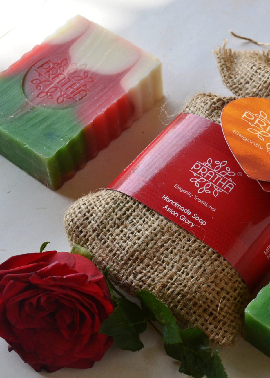 Pratha Naturals Asian Glory Handmade Soap, handmade soap, Pratha Naturals, ihaat, [made_in_india], [handmade] - ihaat