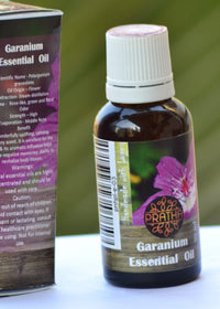 Pratha Naturals Geranium Essential Oil, Body Oil, Pratha Naturals, ihaat, [made_in_india], [handmade] - ihaat