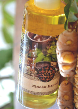Pratha Naturals Nine4U Hair Oil, Hair Oil, Pratha Naturals, ihaat, [made_in_india], [handmade] - ihaat