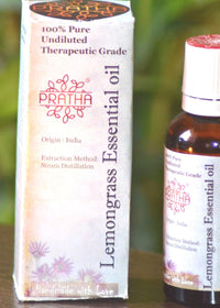 Pratha Naturals Pure Lemongrass Essential Oil, Body Oil, Pratha Naturals, ihaat, [made_in_india], [handmade] - ihaat
